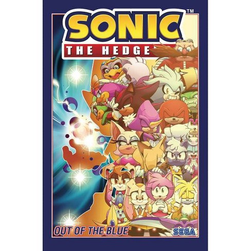 Sonic The Hedgehog Vol 8 Out Of The Blue By Ian Flynn Paperback Target