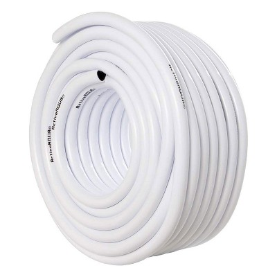 Active Aqua HGTB50WB 1/2 Inch Inside Diameter Vinyl Tubing for Indoor Vegetation Growing Hydroponic Irrigation Systems and Tanks, 100 Feet, White