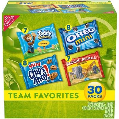 Nabisco Team Favorites Variety Pack - 30ct