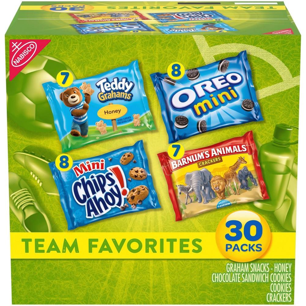 Nabisco Team Favorites Variety Pack 30ct