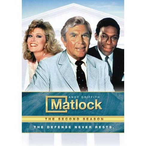 Matlock: The Second Season (DVD) - image 1 of 1