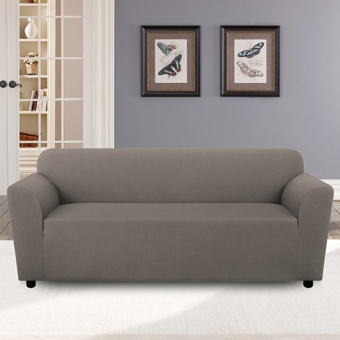 Gray Diamond Sofa Slipcover Sure Fit