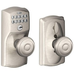 Schlage FE595-CAM-GEO Camelot Keypad Entry