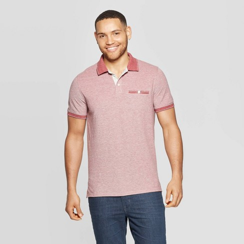 Men's Short Sleeve Retro Polo Shirt - Goodfellow & Co™ - image 1 of 3