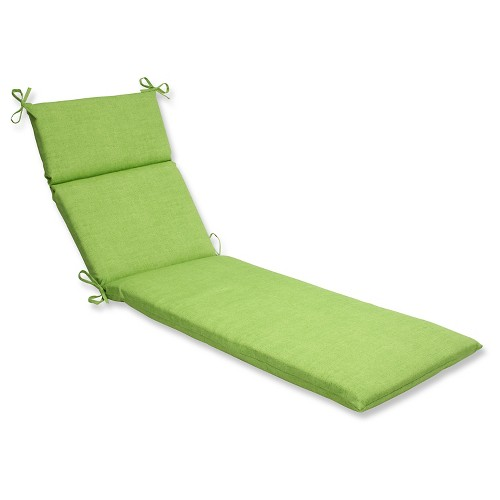 Outdoor Chaise Lounge Cushion - Green