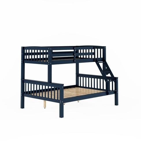 Dakota Twin Single Over Full Double Bunk Bed Corliving