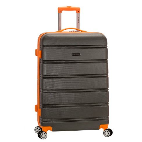 """Rockland Melbourne 28"""" Expandable Hardside Spinner Suitcase - Charcoal - image 1 of 5"""