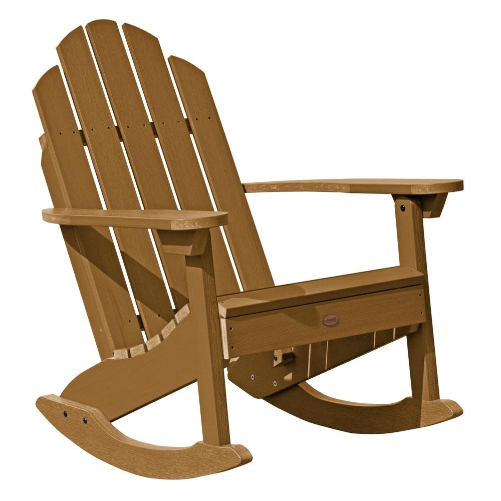 Classic Westport Adirondack Rocking Chair Toffee - Highwood