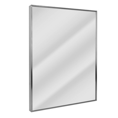 "24"" x 30"" Spectrum Brushed Mirror Nickel - Head West"