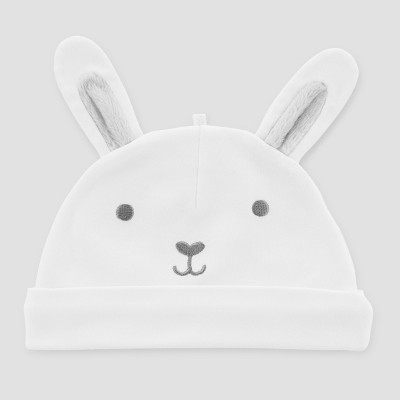 Babys' Easter Bunny Cap - Just One You® made by carter's White One Size