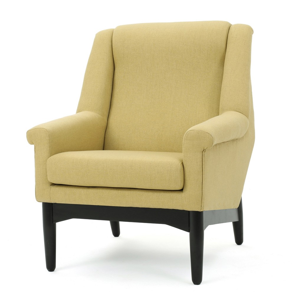 Monet Mid-Century Club Chair - Bright Green - Christopher Knight Home