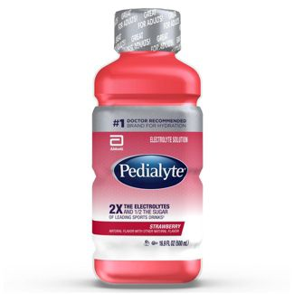 Pedialyte Electrolyte Solution - Strawberry - 16.9 fl oz