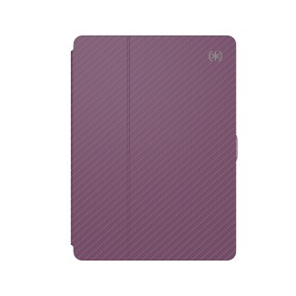 Speck iPad Pro 10.5 Balance Folio Tablet Case - Metallic Sweet Berry Wine Purple/Rhapsody Purple
