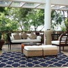 Loire Outdoor Rug Navy - Studio by Brown Jordan - image 3 of 3