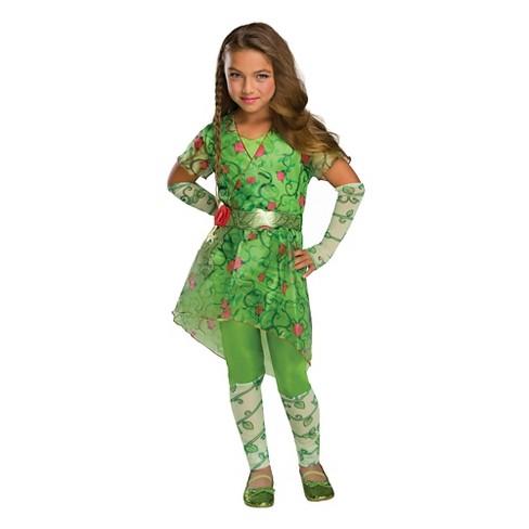 Girls Dc Super Hero Girls Poison Ivy Costume L 10 12 Target