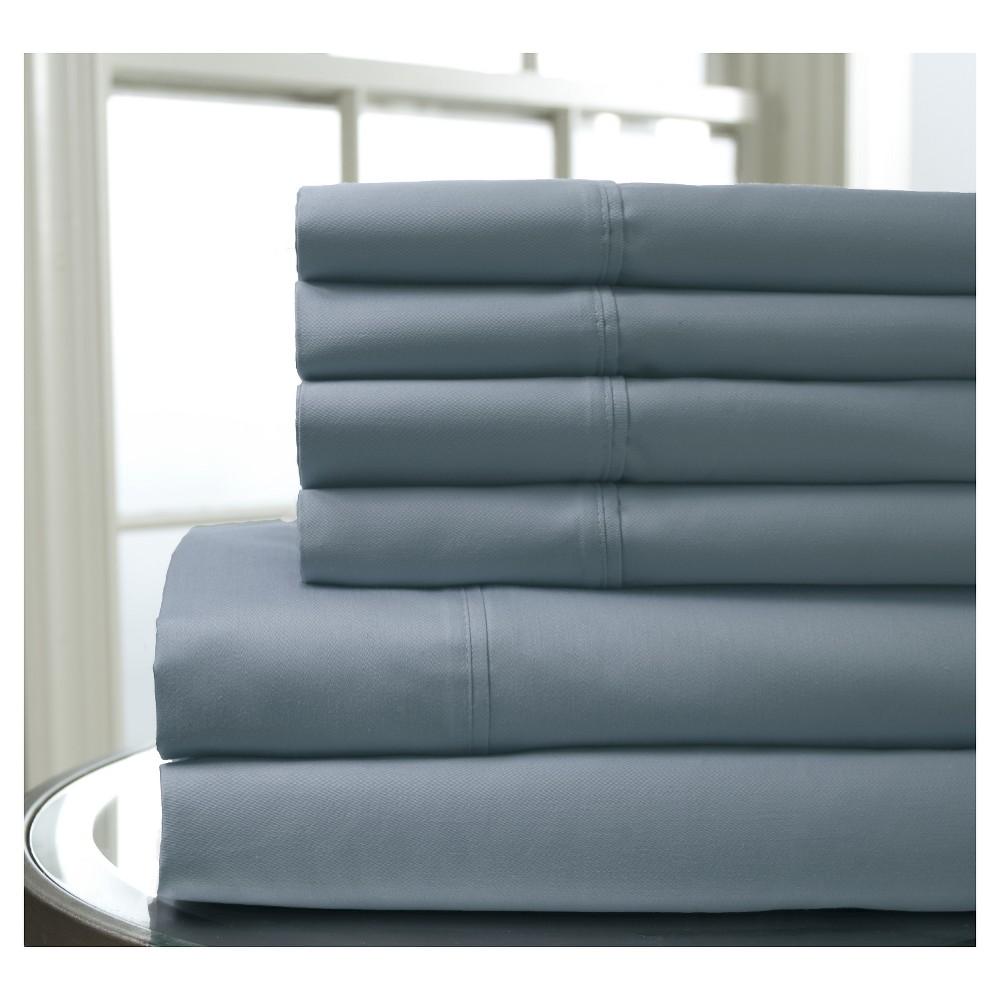 Regency Bonus Cotton 400TC Sheet Set (Queen) Blue