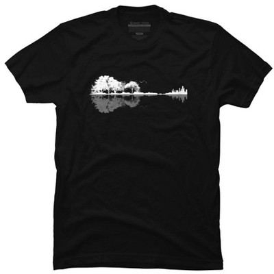 Nature Guitar Mens Graphic T-Shirt - Design By Humans