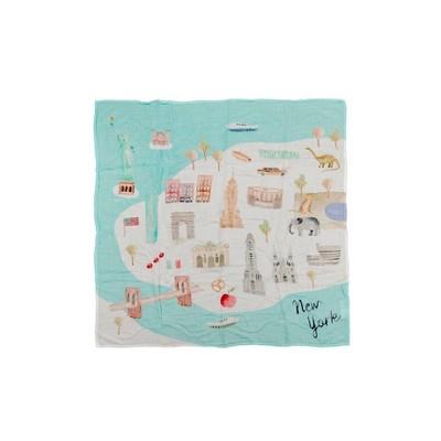 Loulou Lollipop Muslin Swaddle Blanket - New York City