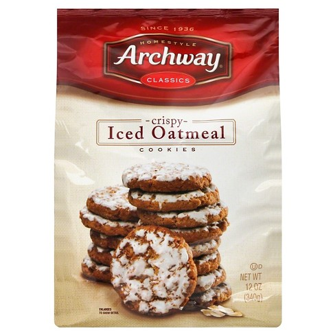Archway Classics Crispy Iced Oatmeal Cookies - 12oz - image 1 of 1