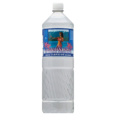 Hawaiian Isles Bottled Water - 1.5 L Bottle - image 1 of 2