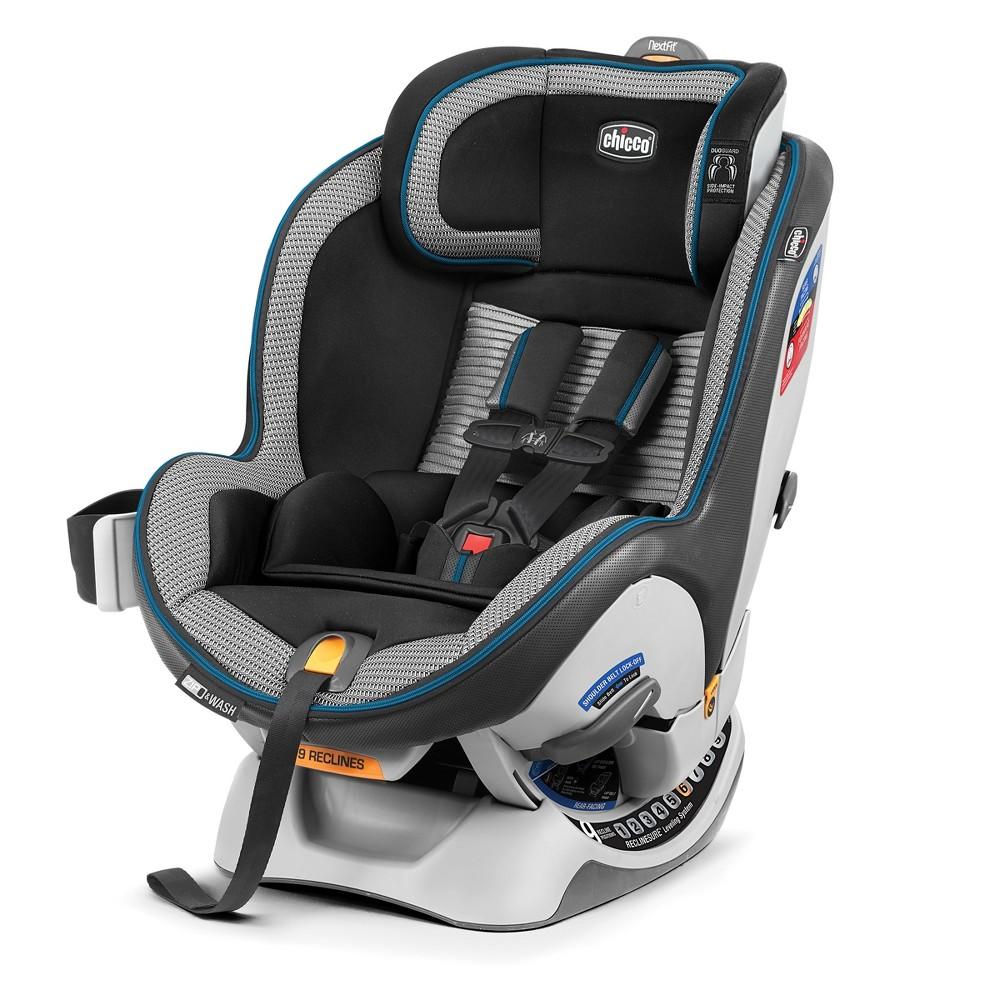 Chicco NextFit Zip Air Convertible Car Seat-Azzurro