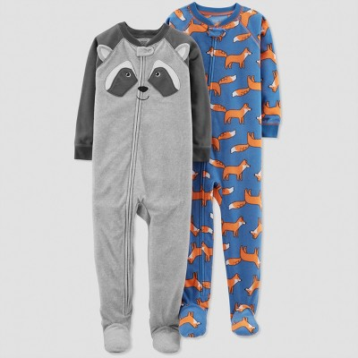 Baby Boys' Raccoon Pajama Set - Just One You® made by carter's Gray 9M