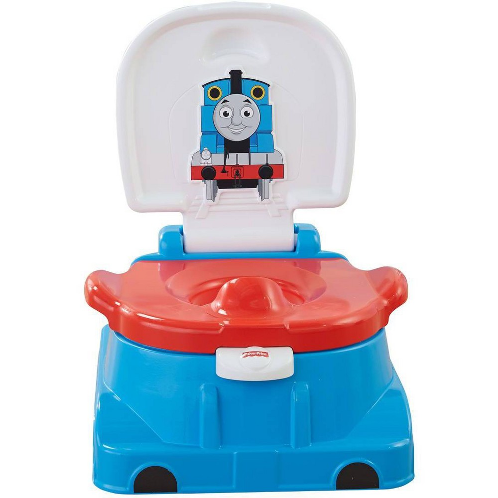 Image of Fisher-Price Thomas & Friends Thomas Railroad Rewards Potty, Blue Red