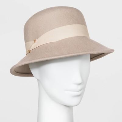 Women's Felt Cloche Hat - A New Day™ Blush Pink One Size