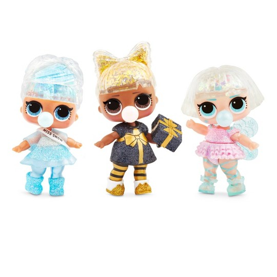 L.O.L. Surprise! Glitter Globe Doll Winter Disco Series with Glitter Hair image number null