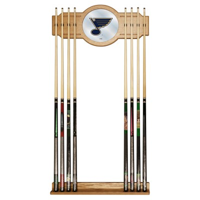 NHL St. Louis Blues Cue Rack with Mirror
