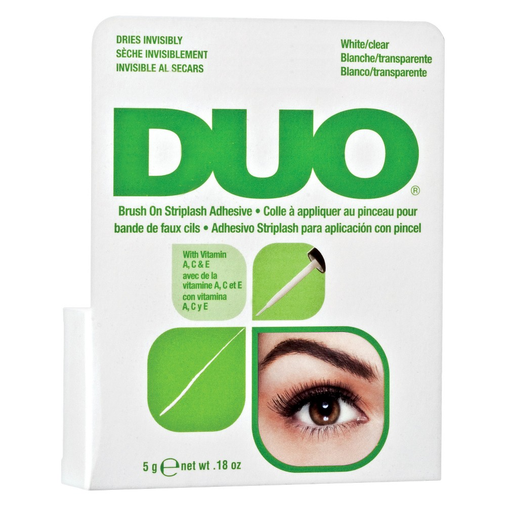 Image of Duo Adhesive Lash Adhesive Brush On Clear - 0.18oz