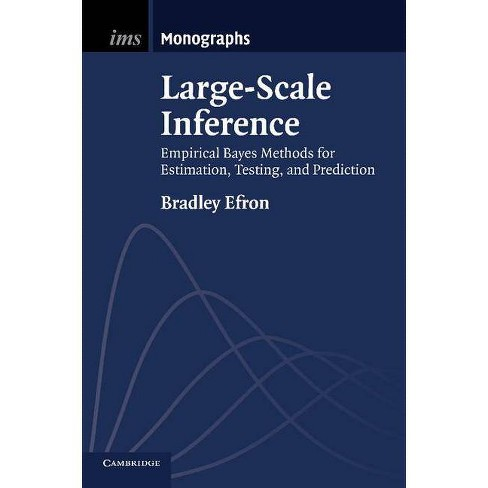 Large-Scale Inference - (Institute of Mathematical Statistics Monographs) by  Bradley Efron (Paperback) - image 1 of 1