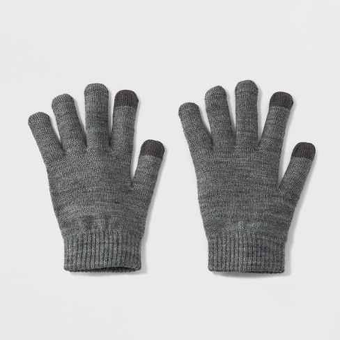 Women's Tech Touch Gloves - Wild Fable™ Dark - image 1 of 1