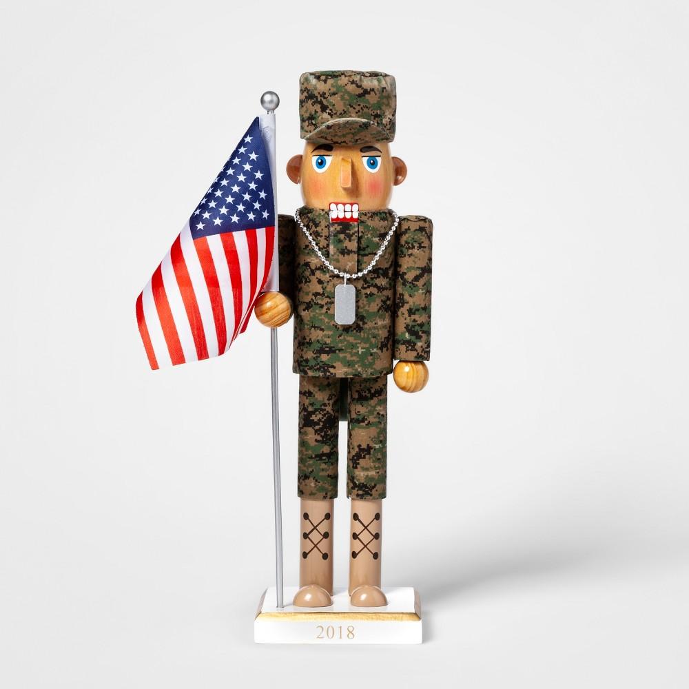 Decorative Figurine Soldier - American Flag - Wondershop, Multi-Colored