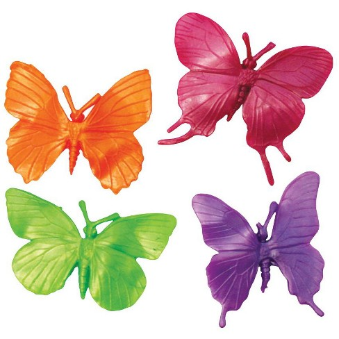 Play Visions Butterfly Stretchy Fidgets, Assorted Colors, set of 4 - image 1 of 1