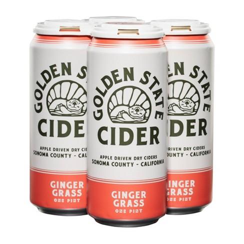 Golden State Ginger Grass Hard Cider - 4pk/16 fl oz Cans - image 1 of 1