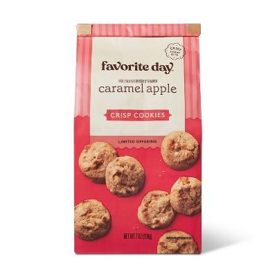 Caramel Apple Crisp Cookie - 7oz - Favorite Day™