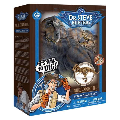 Geoworld Dr. Steve Hunters Paleo Expeditions Dino Excavation Kit - T. Rex - image 1 of 5
