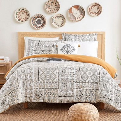 Modern Threads 6 Piece Printed Complete Bed Set Isla.