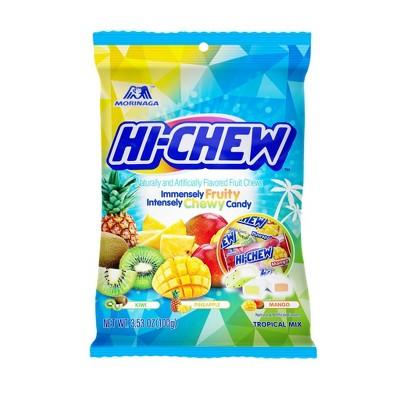Morinaga Hi-Chew Tropical Mix Fruit Chews 3.53oz