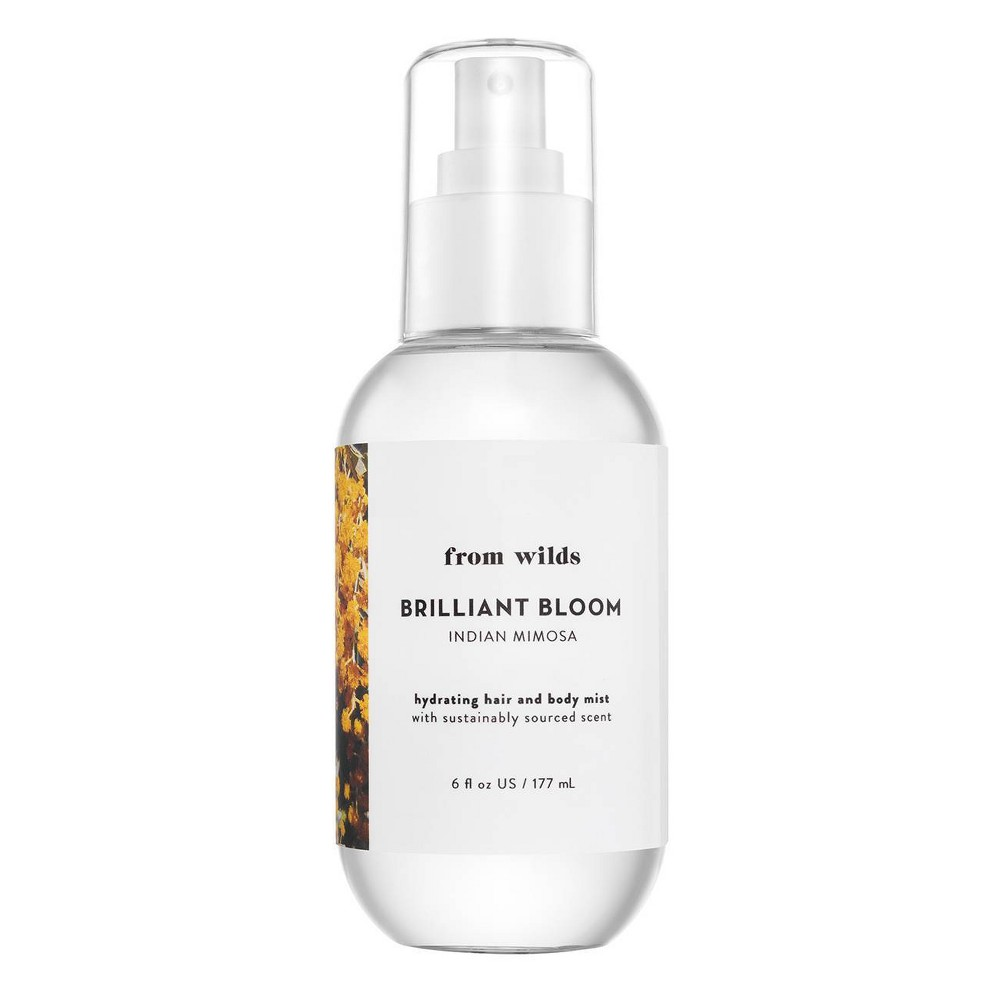 Image of From Wilds Brilliant Bloom Women's Hair and Body Mist - 6 fl oz