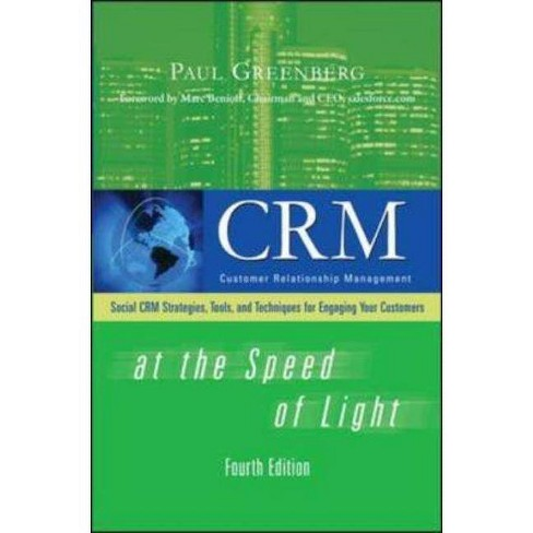 CRM at the Speed of Light - 4 Edition by  Paul Greenberg (Hardcover) - image 1 of 1
