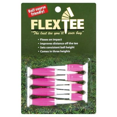 FlexTee Flexible Golf Tees Standard Pink 8pk