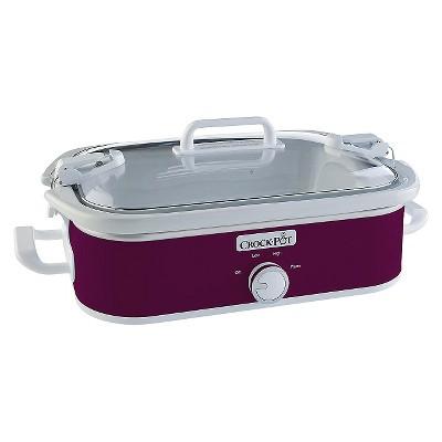 Crock-Pot® 3.5 Qt. Casserole Crock Slow Cooker - Pink SCCPCCM650