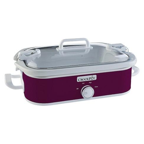 Crock-Pot® 3.5-Quart Casserole Crock Slow Cooker SCCPCCM350 - image 1 of 8