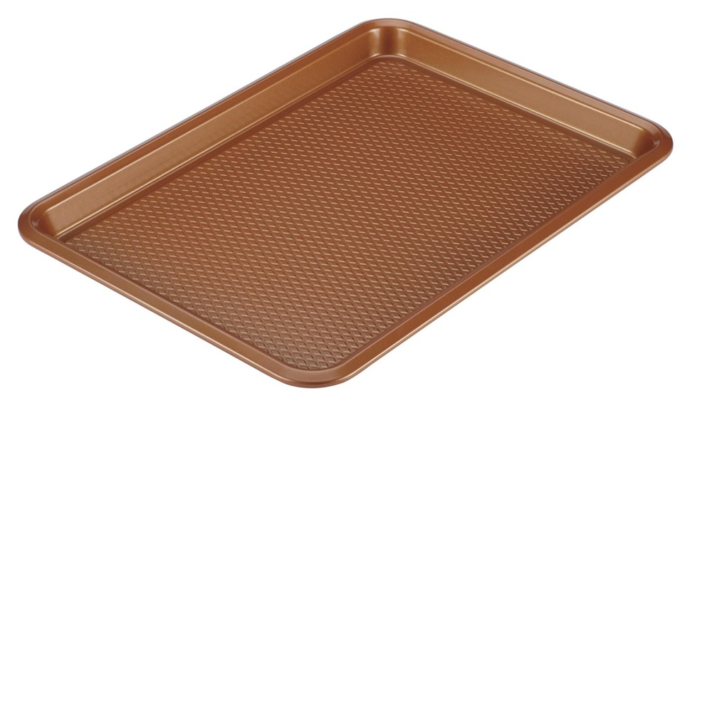"Image of ""Ayesha Curry 10"""" x 15"""" Bakeware Nonstick Cookie Pan, Brown"""