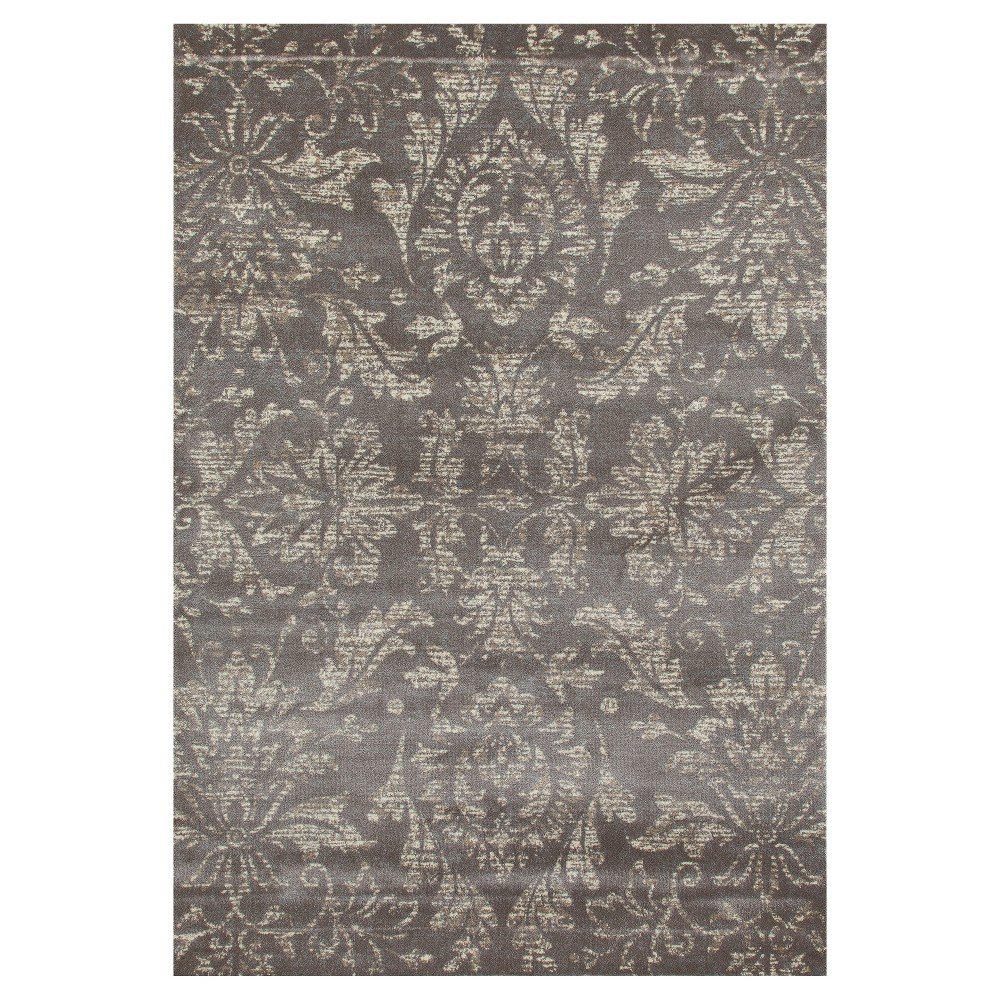 Image of Gray Classic Woven Area Rug - (7'X9') - Art Carpet