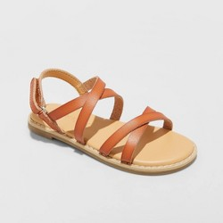 Toddler Girls' Mabyn Ankle Strap Sandals - Cat & Jack™