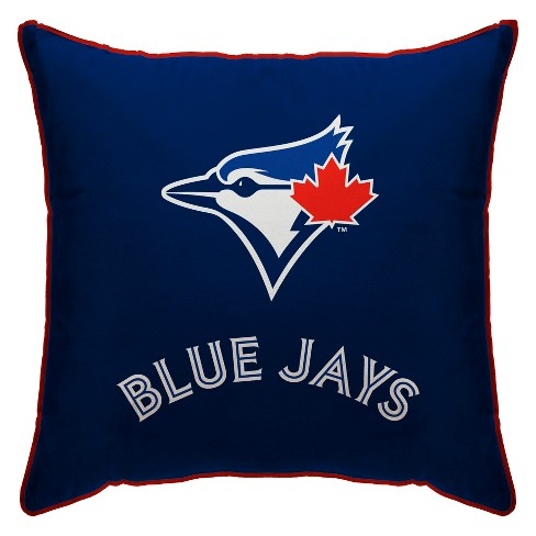 Mlb Toronto Blue Jays 18 X18 Standard Logo Throw Pillow Target