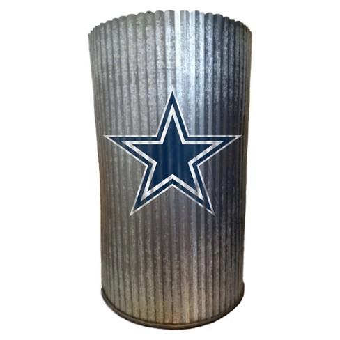 NFL Dallas Cowboys Metal Cylinder Vase - image 1 of 1